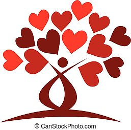 árvore, de, amor