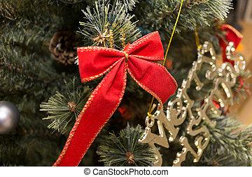 árvore, decorações natal
