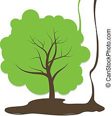 árvore, desenho