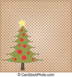 árvore, esquema, natal