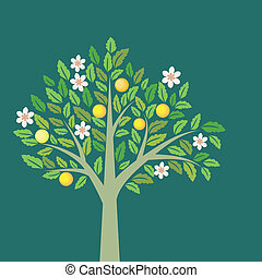 árvore fruta