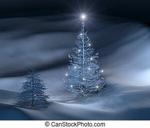 árvore, iii, natal