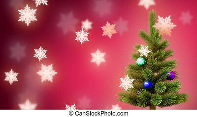 árvore natal, e, %u044bnowflakes
