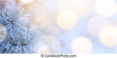 árvore natal, fundo