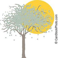 árvore, natureza