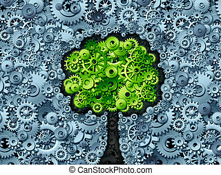 árvore, negócio