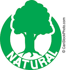 árvore, símbolo, natural
