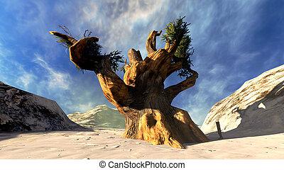 árvore, sagrado