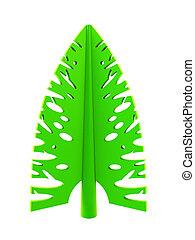 árvore, simbólico, abeto, 3d, ano novo