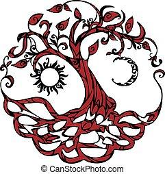 árvore, vida