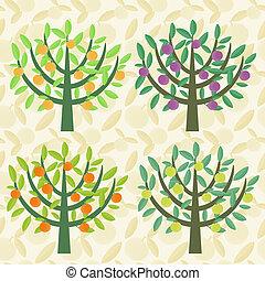 árvores fruta