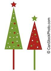 árvores natal