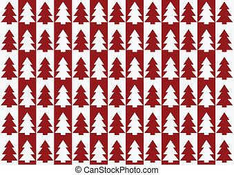 árvores, natal, padrão experiência