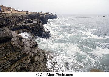 áspero, litoral california
