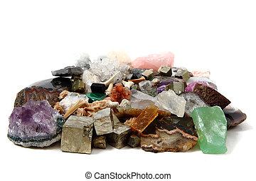 ásvány, gyűjtés