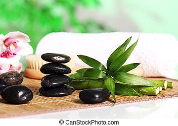 ásványvízforrás, és, wellness