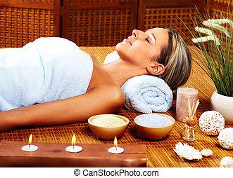 ásványvízforrás, massage.