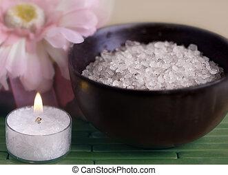 ásványvízforrás, pihenés