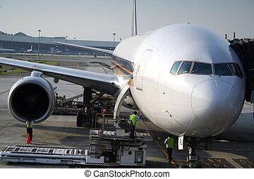 átjárás, repülőgép