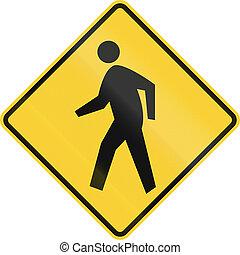 átkelés, gyalogos