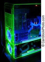 áttetsző, számítógép