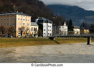 áustria, luxo, lares, salzburg