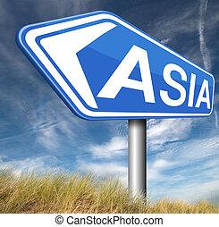 ázsia, aláír