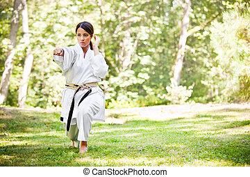 ázsiai, szokás karate