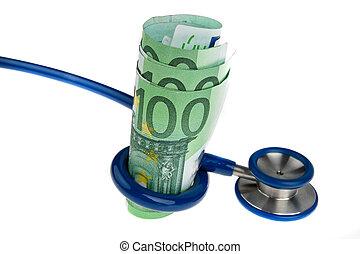 €, 聴診器, コスト, 健康