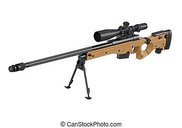 âmbito, rifle, franco-atirador