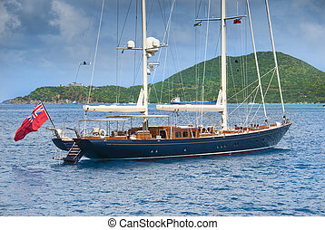 âncora, sailboat