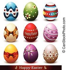 ägg, påsk, kollektion