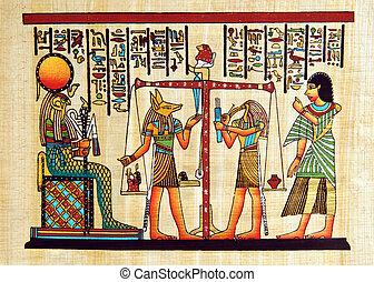 ägypten, papyrus