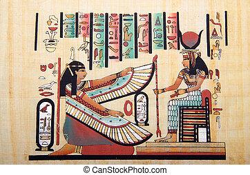 ägypter, begriff, papyrus, geschichte