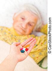 äldre hemma, omsorg