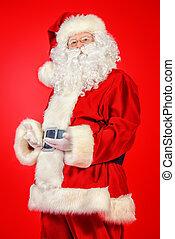äldre, jultomten