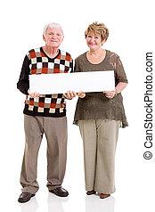 äldre koppla, holdingen, vita planka
