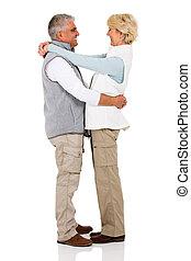 äldre koppla, i kärlek