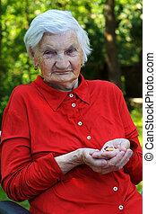 äldre, omsorg