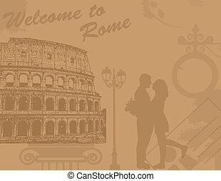 älskarna, rom