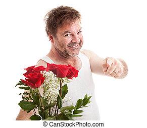 älskling, blomningen, min