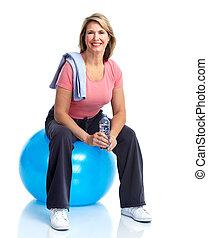 älter, fitness.