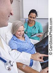 Verabredung einer männlichen Krankenschwester