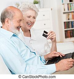 ältere paare, on-line kaufen