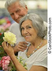 ältere paare, porträt