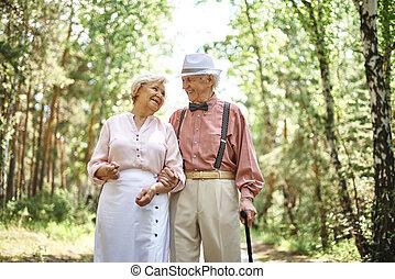 ältere, romantische