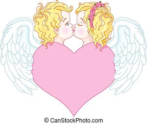 änglar, kärlek