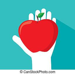 äpple, design