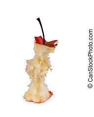 äpple kärna