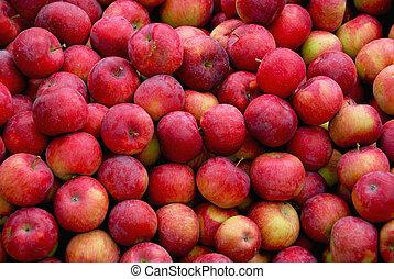 äpplen, bakgrund